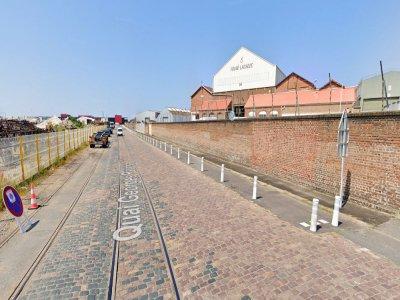 Un incendie s'est déclaré mardi 4 août au sein de l'entreprise Fouré Lagadec, au Havre.    Google Street View
