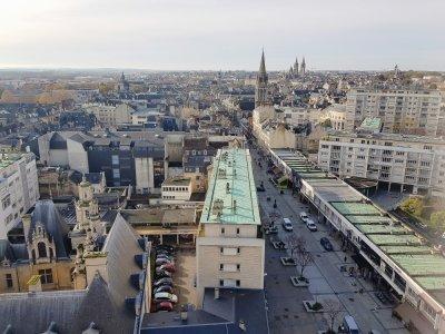 Le prix de l'immobilier à Caen est relativement stable par rapport à l'année 2019.