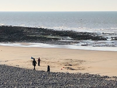 Une sortie en mer s'est terminée en drame, le jeudi 20 août, à Veules-les-Roses. (Illustration) - Twitter Gendarmerie de la Seine-Maritime