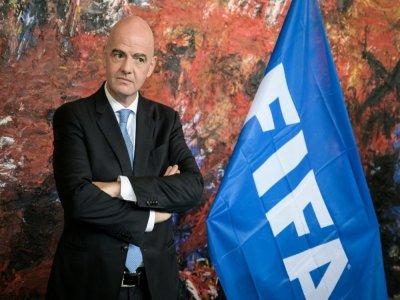 Le président de la Fifa, le 4 octobre 2019 à Genève - FABRICE COFFRINI [AFP/Archives]