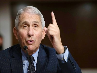 Le docteur Anthony Fauci, le 23 septembre 2020 à Washington