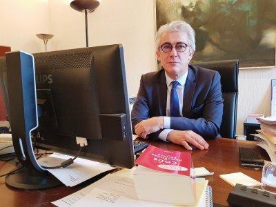 Bruno Dieudonné, procureur de la République du Havre. Il a pris ses fonctions le mardi 1er septembre.