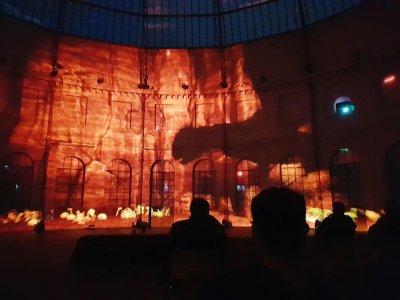 Un mapping à 360° sera présenté sur les 100m des murs intérieurs et circulaires du bâtiment emblématique d'Alençon à partir de fin janvier.