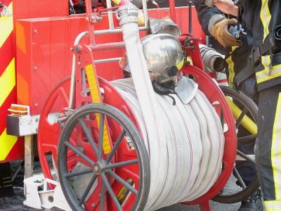 Un incendie s'est déclaré dans la soirée du vendredi 30 octobre, à Bec-de-Mortagne.
