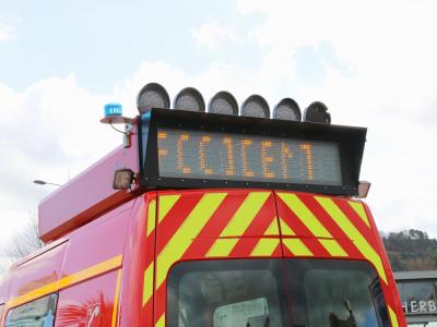 Un poids lourd transportant des céréales s'est renversé près de Domfront dans la matinée ce mardi 17 novembre. Illustration