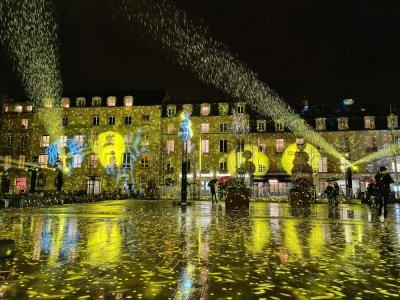 Le spectacle Snow Glow en a séduit plus d'un sur la place de la République pendant les fêtes de Noël.