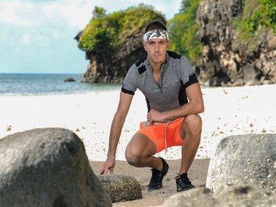 L'athlète caennais Dorian Louvet a brillé sur la fameuse émission TV Koh-Lanta. Il a été finaliste.    Laurent Vu / ALP / TF1 - Laurent Vu