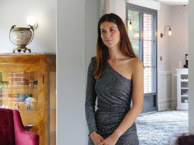 Les Jardins de Joséphine à Évreux accueillaient 60 des plus belles jeunes femmes de la région ce jour-là.    Guillaume Lemoine