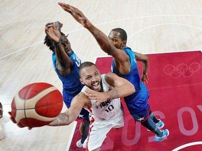 Défaite surprise des basketteurs américains face à la France aux JO de Tokyo le 25 juillet 2021    Eric GAY [POOL/AFP]