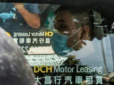 Tong Ying-kit, le 6 juillet 2020 à Hong Kong    ISAAC LAWRENCE [AFP/Archives]