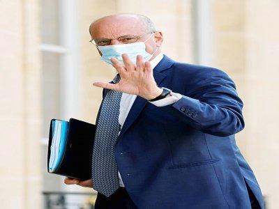 Le ministre de l'Education nationale Jean-Michel Blanquer à l'Elysée le 19 juillet 2021 - Ludovic MARIN [AFP/Archives]