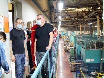 Le mardi 27 juillet, 80 personnes, salariés et leur famille, ont pu se faire vacciner directement au travail, à l'usine Guy Degrenne.    Cassandre Dewaegeneire