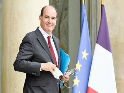 Le Premier ministre Jean Castex le 28 juillet 2021 à Paris    Bertrand GUAY [AFP]