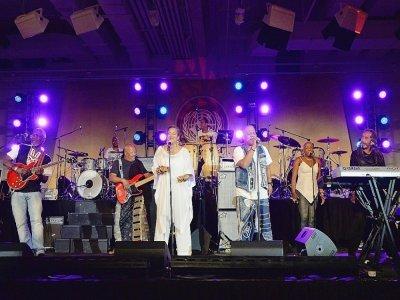 Kassav' en concert à New York en juin 2014    Mike Coppola [GETTY IMAGES NORTH AMERICA/AFP]