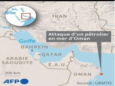 Pétrolier attaqué en mer d'Oman     [AFP]