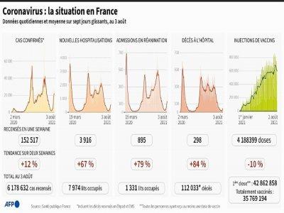 Coronavirus : la situation en France - Simon MALFATTO [AFP]