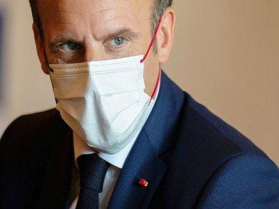 Emmanuel Macron le 24 juillet 2021 à Tokyo - Charly TRIBALLEAU [AFP/Archives]
