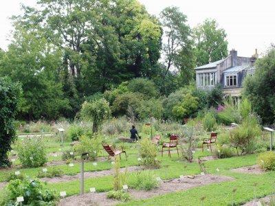 Découvrez l'orangerie et la volière du jardin botanique de Caen.