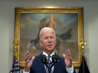 Le président américain Joe Biden, le 24 août 2021 à la Maison Blanche, à Washington    JIM WATSON [AFP]
