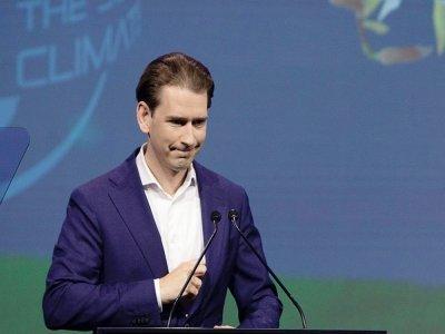 Le chancelier autrichien Sebastian Kurz, le 1er juillet 2021    ALEX HALADA [AFP/Archives]