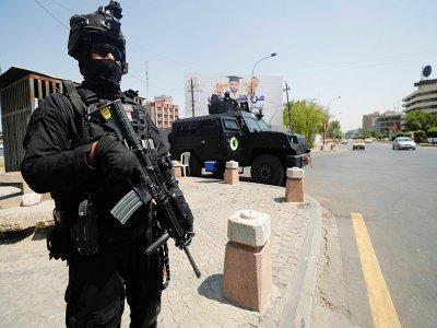 Des membres des forces spéciales irakiennes sont déployées dans Bagdad le 27 août 2021 à la veille d'une conférence régionale    Ahmad AL-RUBAYE [AFP]
