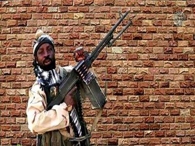 Image du défunt chef de Boko Haram Abubakar Shekau, extraite le 15 janvier 2018 d'une vidéo diffusée le même jour par le groupe jihadiste, filmée dans un lieu indéterminé, au Nigeria    Handout [BOKO HARAM/AFP/Archives]