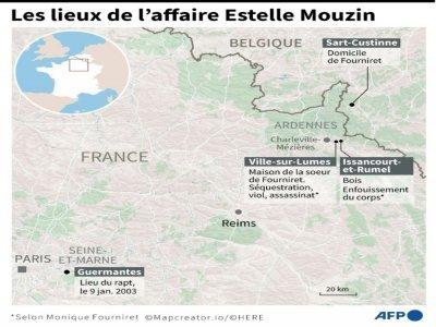 Les lieux de l'affaire Estelle Mouzin    Vincent LEFAI [AFP]