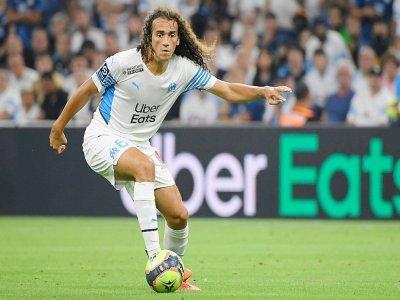 Le défenseur français de Marseille Matteo Guendouzi, lors du match de Ligue 1 de l'OM face Saint-Etienne, au stade vélodrome le 28 août 2021    Nicolas TUCAT [AFP/Archives]