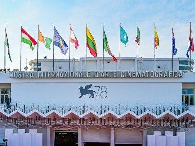 Palais du festival de Venise, à la veille de l'ouverture du festival, le 31 août 2021    MIGUEL MEDINA [AFP]