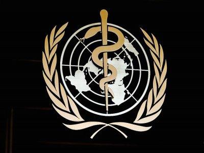 Photo prise le 24 février 2020 montrant le logo de l'Organisation mondiale de la santé (OMS) à l'entrée de son siège à Genève    Fabrice COFFRINI [AFP/Archives]