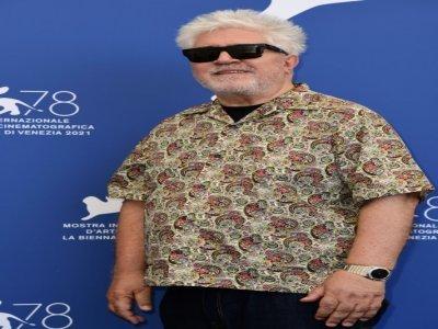 Le réalisateur espagnol Pedro Almodovar à la Mostra de Venise le 1er septembre 2021    Miguel MEDINA [AFP]