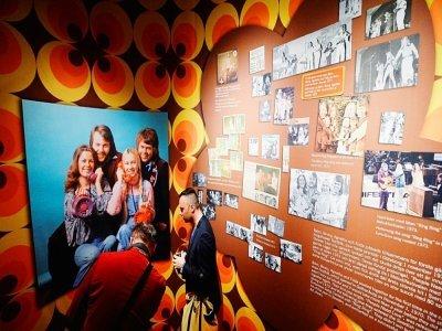 Un musée intégralement dédié à ABBA à Stockholm, en mai 2013 - JONATHAN NACKSTRAND [AFP/Archives]
