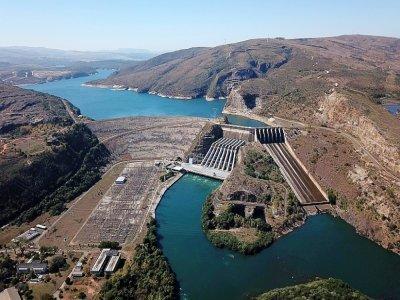 Le barrage de Furnas à Sao José da Bara, le 19 juillet 2021 dans l'Etat du Minas Gerais, au Brésil    Douglas Magno [AFP/Archives]