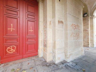 Les inscriptions étaient encore visibles à 20h30 jeudi 2 septembre.