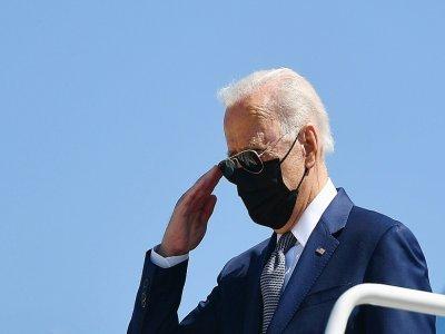 Le président Joe Biden à l'Andrews Air Force Base, dans le Maryland le 3 septembre 2012    MANDEL NGAN [AFP]