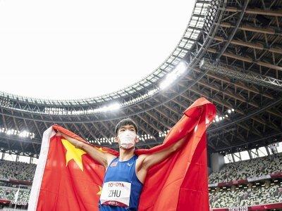 La Chine de Zhu Dening médaillé d'or à Tokyo le 1er septembre 2021, est la nation qui compte la plus grosse moisson de médailles aux Paralympiques japonaises    Charly TRIBALLEAU [AFP/Archives]