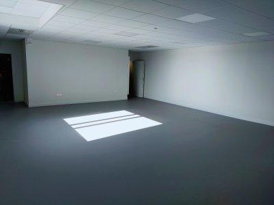 Les salles de musiques (de 60 et de 25m²), ont été disposées côte à côte à l'étage, et ont été insonorisées, afin de permettre le bon déroulement des autres activités en même temps.    Mathieu Marie
