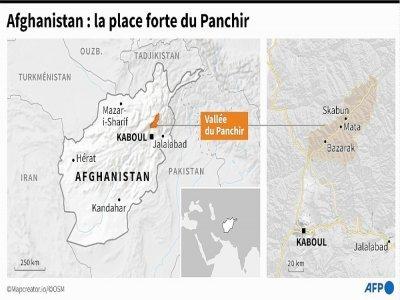 Afghanistan : la place forte du Panchir     [AFP]