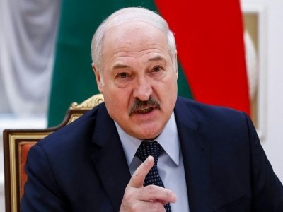 Le président bélarusse Alexandre Loukachenko, le 28 mai 2021 à Minsk    Dmitry Astakhov [POOL/AFP/Archives]