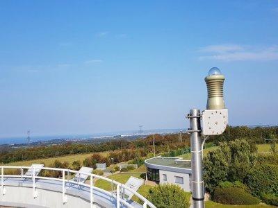 La caméra FRIPON a permis au Planétarium Ludiver de filmer le vol du météore au-dessus du Finistère. - Planétarium Ludiver