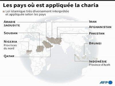 La charia dans le monde     [AFP]