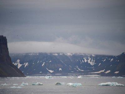 L'archipel François-Joseph, dans l'Arctique, le 16 août 2021    Ekaterina ANISIMOVA [AFP/Archives]