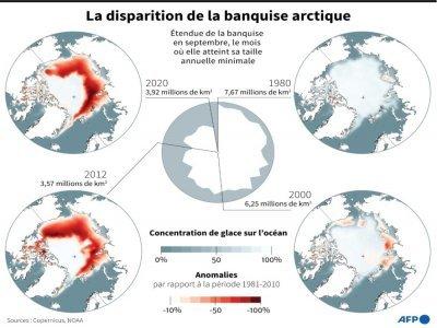 La disparition de la banquise arctique    Simon MALFATTO [AFP]