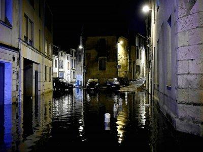 Les eaux des inondations à Agen le 9 septembre 2021    Philippe LOPEZ [AFP]