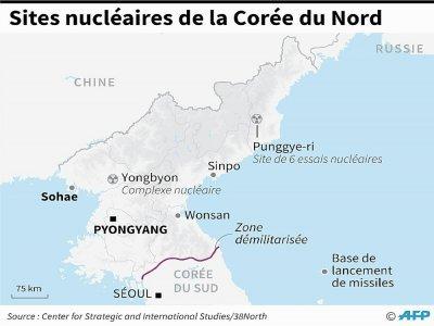 Sites nucléaires de la Corée du Nord    Gal ROMA [AFP/Archives]