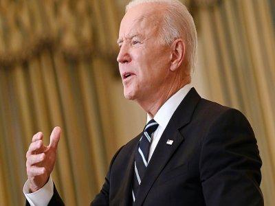 Le président américain Joe Biden s'exprime à la Maison Blanche le 9 septembre 2021 sur l'épidémie de coronavirus aux Etats-Unis, deux jours avant de présider la cérémonie à New York pour le 20e anniversaire des attentats jihadistes du 11-Septembre    Brendan SMIALOWSKI [AFP]