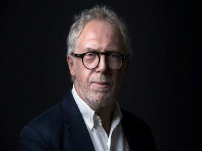 Philippe Duperron, président de l'association de victimes 13onze15, pose le 7 septembre 2021 à Paris    JOEL SAGET [AFP/Archives]