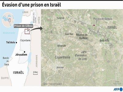 Evasion d'une prison israélienne    Tupac POINTU [AFP]