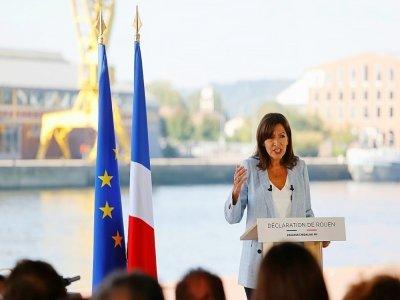 La maire de Paris Anne Hidalgo annonce sa candidature à la présidentielle le 12 septembre 2021 à Rouen    Thomas SAMSON [AFP]
