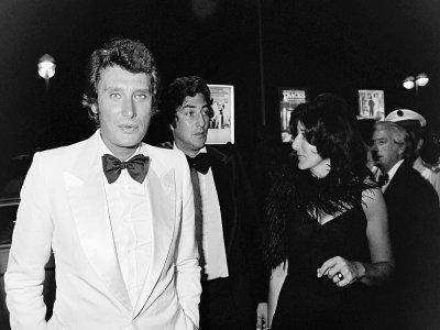 Johnny Hallyday au festival de Cannes le 23 mai 1976    - [AFP/Archives]